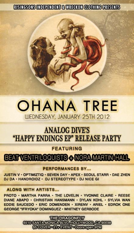 It's Time Again! Ohana Tree – JAN 25th 2012