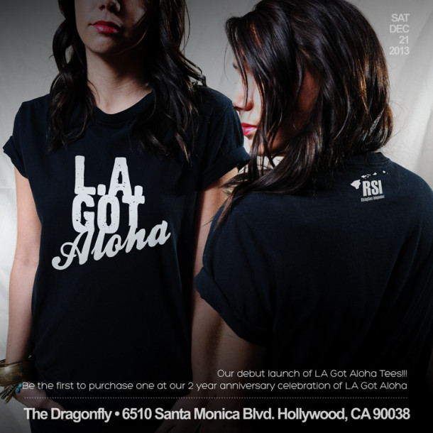 New LA Got Aloha T-Shirts