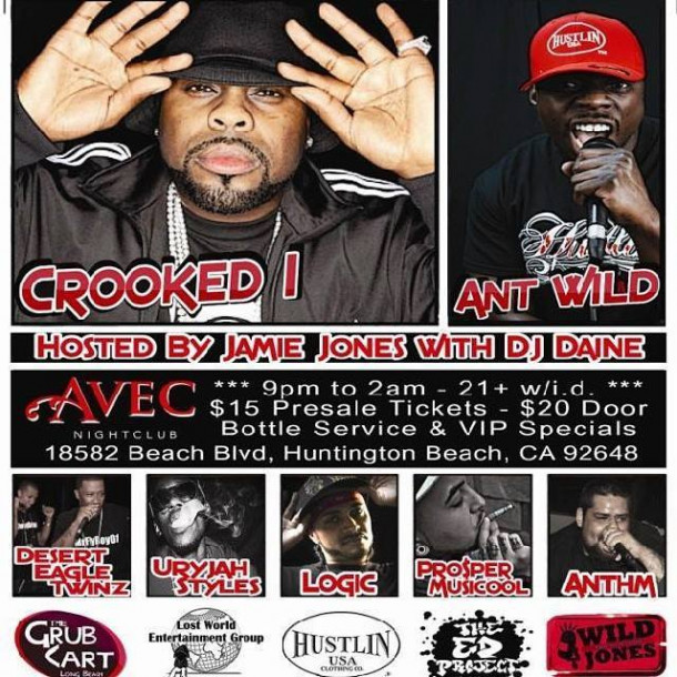 Anthm Opening For Crooked I