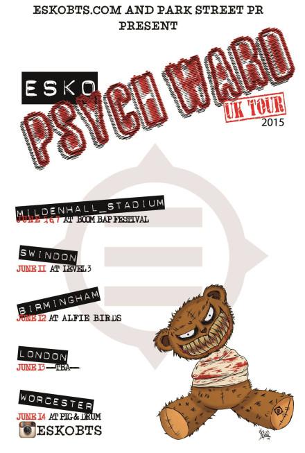 Esko Heading To The UK!