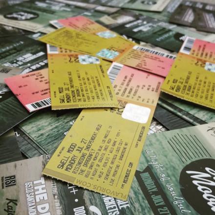 Swell Mood Tickets Half Off Door Price!