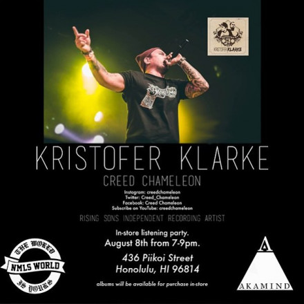 Kristofer Klarke Listening Party