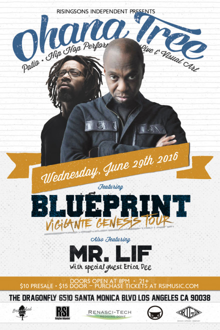 Blueprint rsi blueprint set to headline ohana tree along with mr lif on the same lineup malvernweather