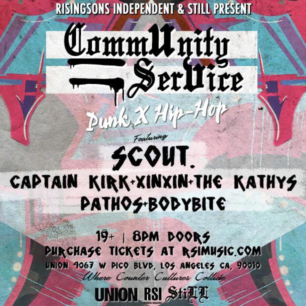Community Service (Punk X Hip-Hop)