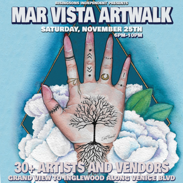 Mar Vista Artwalk- Steppin' Into Art