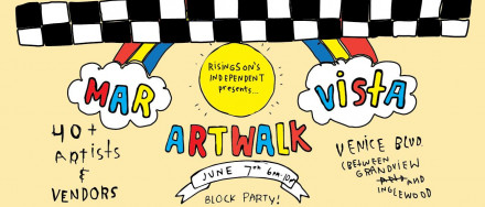 Mar Vista Artwalk June 7th
