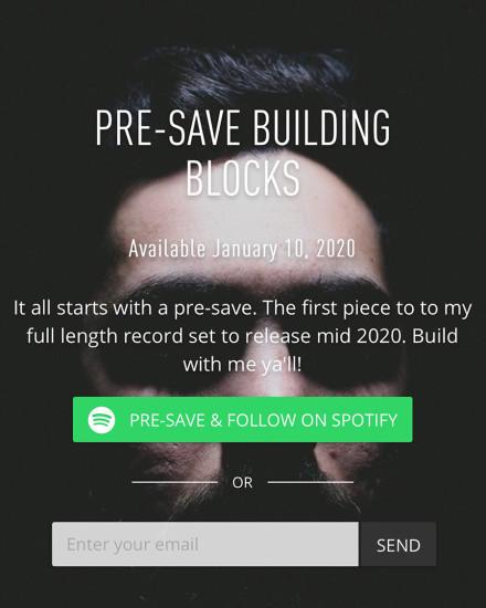 Pre-Save New Analog Dive, Building Blocks