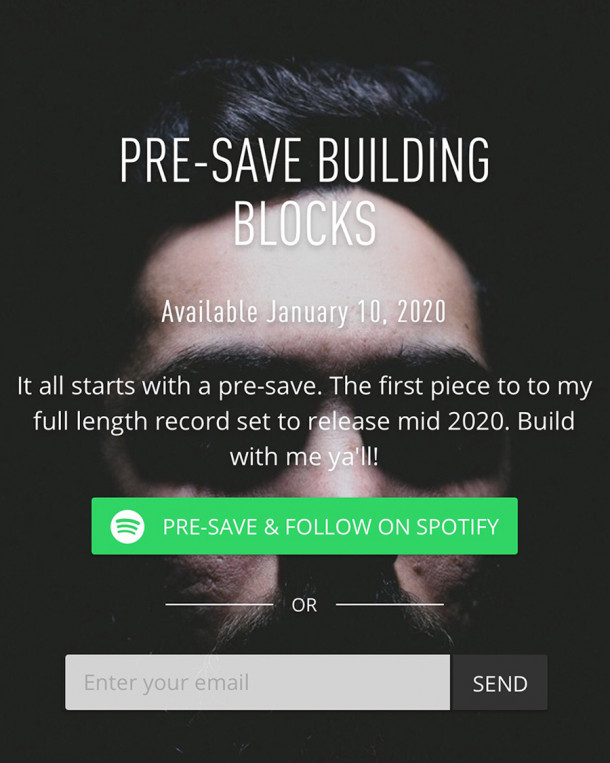 Pre-Save New Analog Dive, Building Blocks