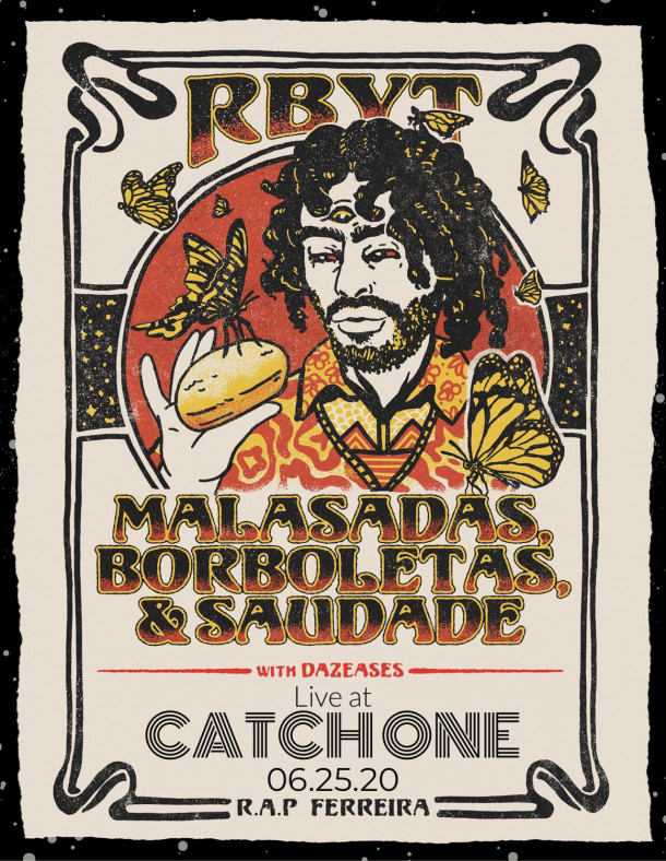 R.A.P. Ferreira (fka Milo) w/Dazeases Live at Catch One – June 25th