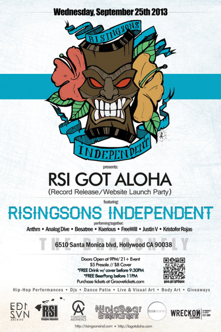 RSI Got Aloha Release Party