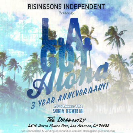 A Date For Celebrating 3 Years of Aloha!
