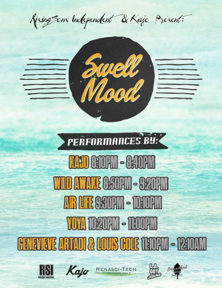 Swell Mood Set Times