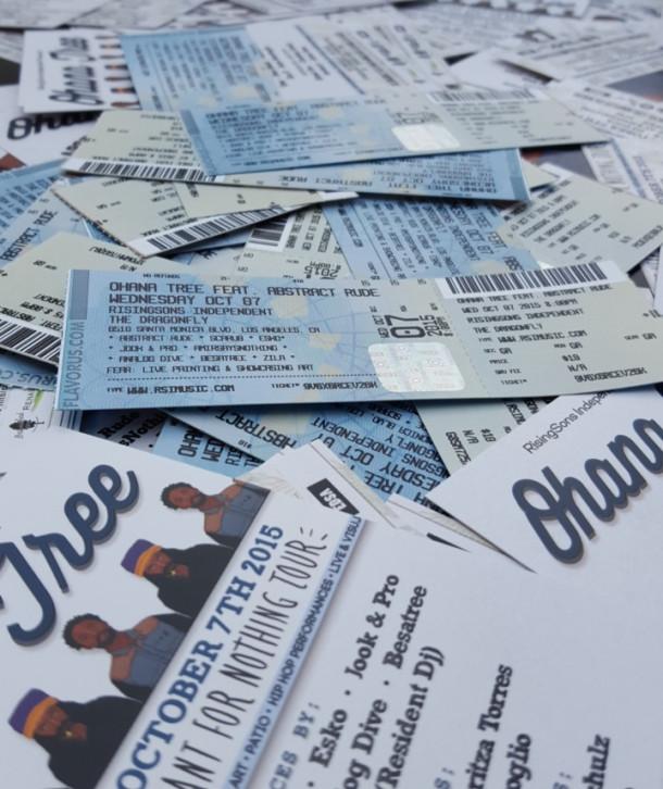 Ohana Tree Tickets!…. No Service Fees?