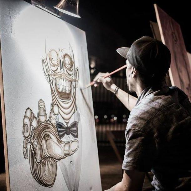 We're bringing art to the Luau!