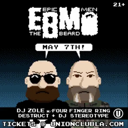 The Beard Men Invade Los Angeles TONIGHT!!!!!!