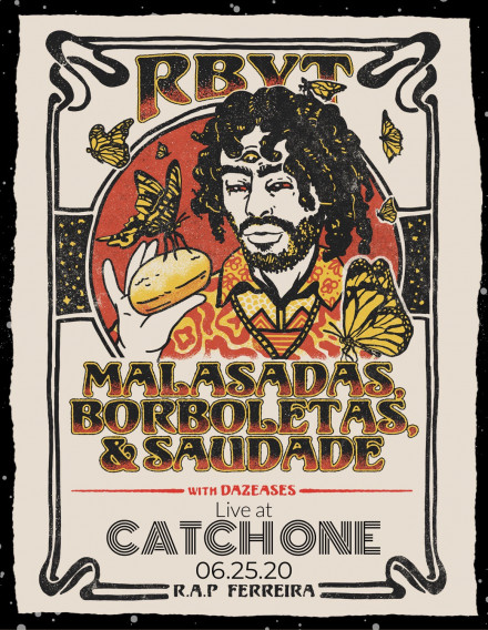 R.A.P. Ferreira (fka Milo) w/Dazeases Live at Catch One – June 25th